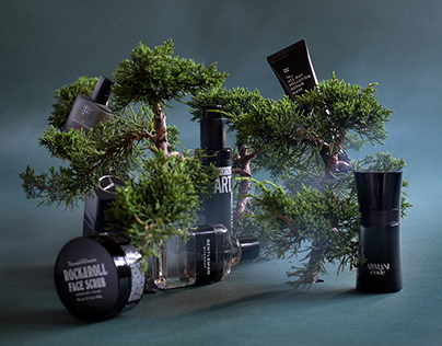 Bonsai concept - still life editorial for Esquire mag