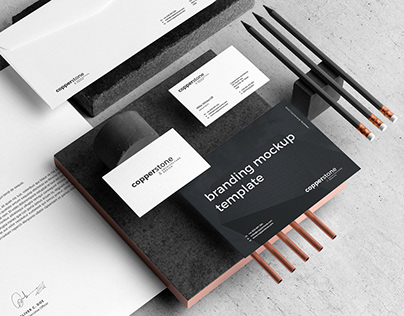 Copperstone Branding Mockup Vol. 2