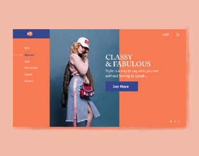 Collection of Website Landing Page