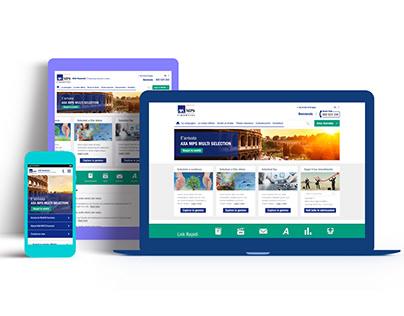 Axa Italy Responsive website