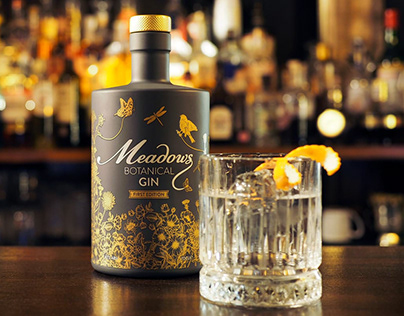 Meadows Gin | Branding and Launch