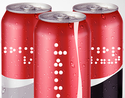 Coca-Cola | Braille Cans