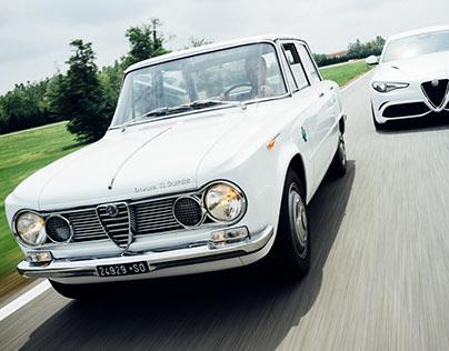 Fabrizio Giovanardi and the Alfa Romeo Giulia ti super