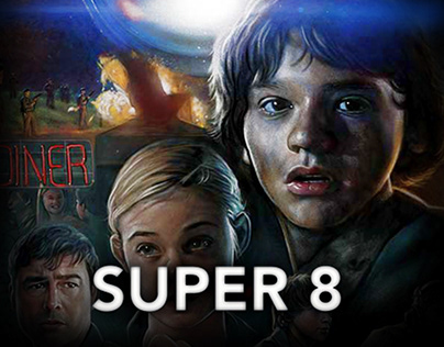 Super 8 - Movie Poster OFFICIAL