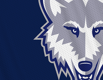 Nevada Wolves rebrand concept