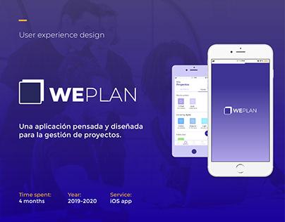 WePlan | UX Design
