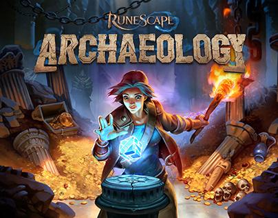 Logo Design - RuneScape Archaeology Skill Logo