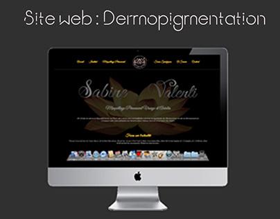 Création Site Web cabinet de Dermopigmentation