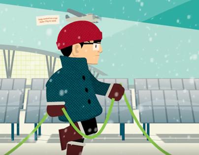 Animation: IPL Holiday Promotion