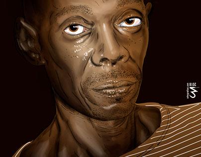 Maxi Jazz vector portrait
