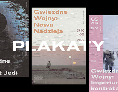 Plakaty - Movie poster series