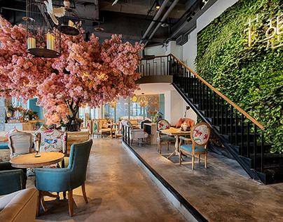 Interior Design - Coffee Bar - Xiaomeng Wang