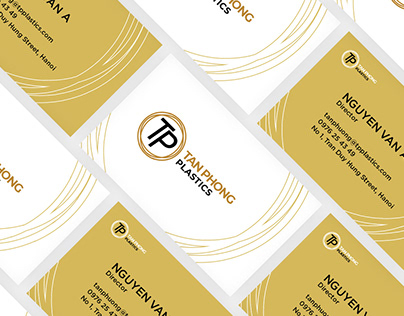 Tan Phong Plastics Brand Identity | Christ Design