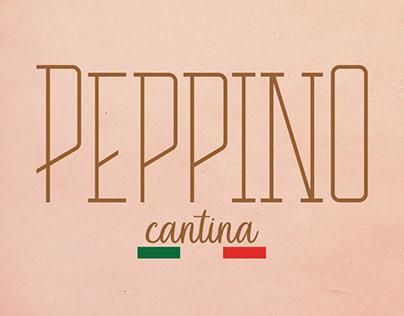Identidade visual- Peppino Cantina
