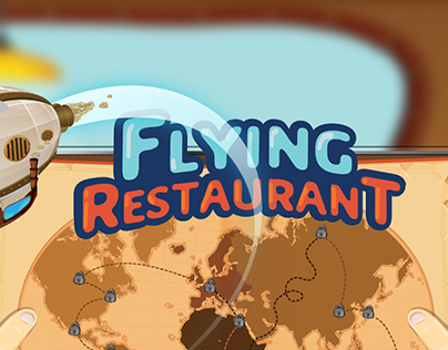 UI SmartTV - Flying Restaurant Game