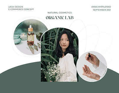 ORGANIC LAB E-COMMERSE online store