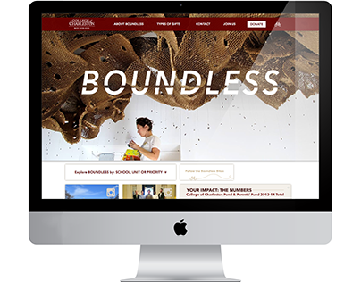 BOUNDLESS: Campaign Website