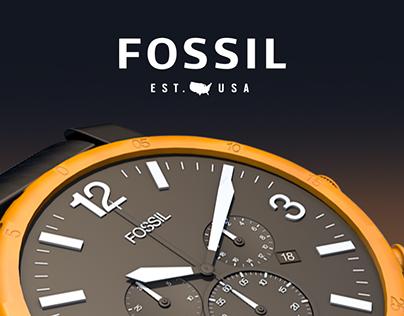 FOSSIL jr-1369 | CINEMA 4D