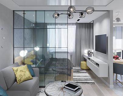 Дизайн квартири ЖК Яровиця