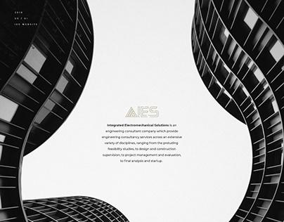IES Website - Engineering consultant company