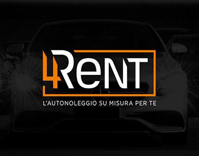 4RENT Autonoleggio | Logo & Identity