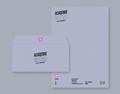 Visual Identity - Académie de Billard Clichy-Montmartre