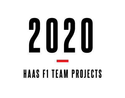 2020 Haas F1 Team Projects