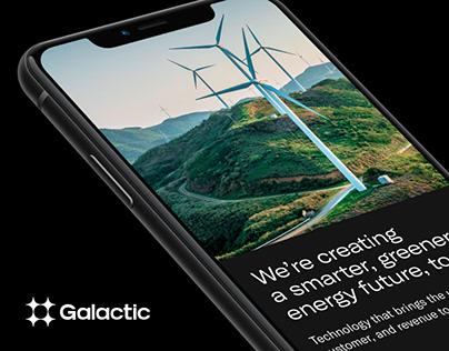 Galactic Energy: Website