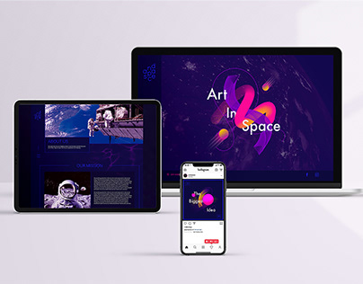 AND SPACE. Digital Project