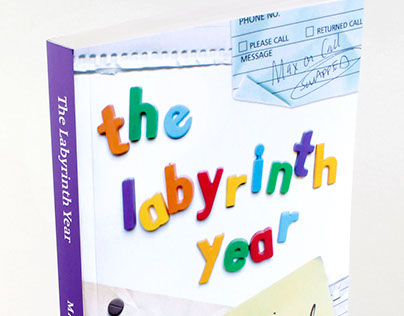 The Labyrinth Year: book cover design