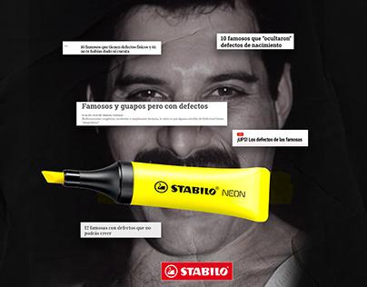 #LoQueRealmenteImporta -Stabilo (Campaña)