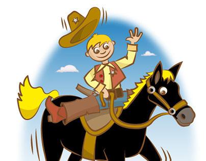 """""""Jeg er en glad lille cowboy"""""""