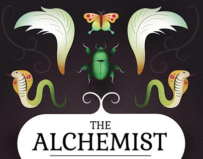 Book Cover Redesign: The Alchemist
