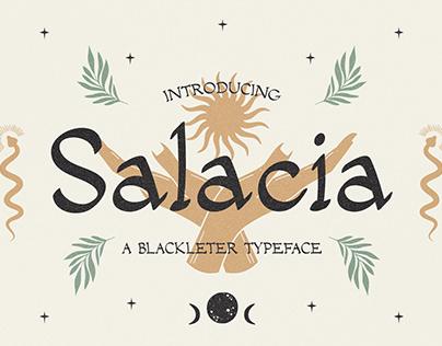 Salacia – Modern Serif Typeface