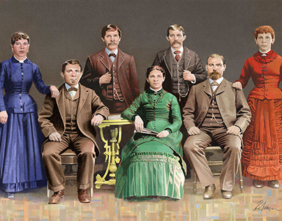 Gabelmann Family Portrait
