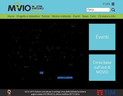 Redisegn sito Movio