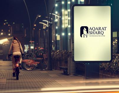Aqarat Sharq - Logo & branding