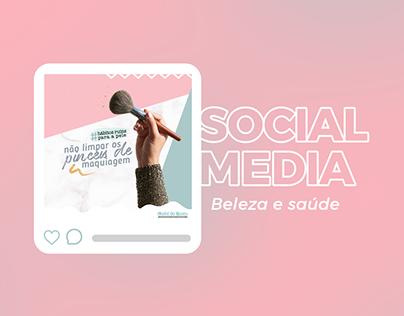 Social Media - Saúde & Beleza