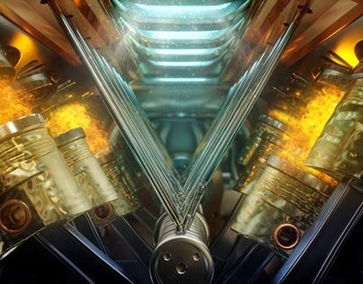 Proficar Engine Oil TV Ad | Mercedes in the Desert