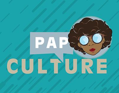 Pap Culture Logo Design