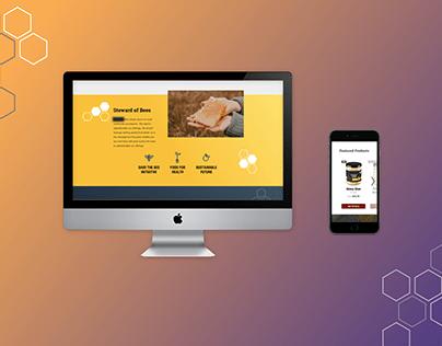 Honey Supplier Homepage Redesign