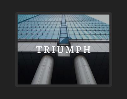 TRIUMPH (landing page)
