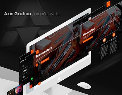 Axis Gráfica // diseño web