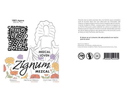 Propuesta Imagen Mezcal Zignum