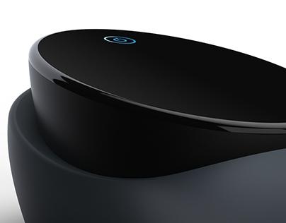 WISE - Vacuum cleaner concept. Robot vacuum.