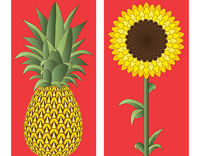 Pineapple & Sunflower