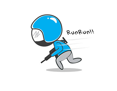 RunRun!! (Simple Character Icon)