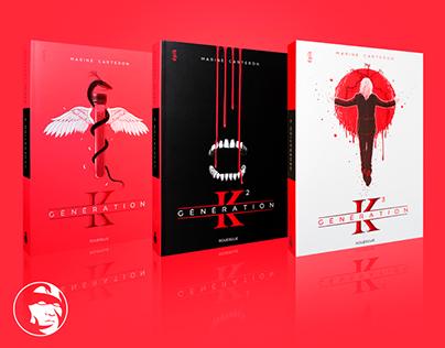 GENERATION K Vol.3 - BOOK COVER