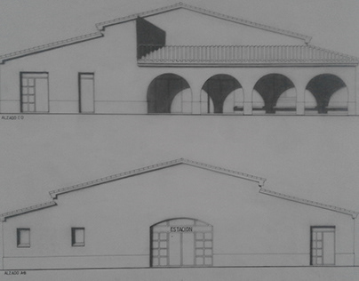 Train station project