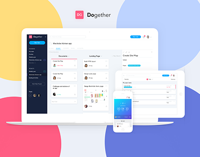 Dogether - Project management web application